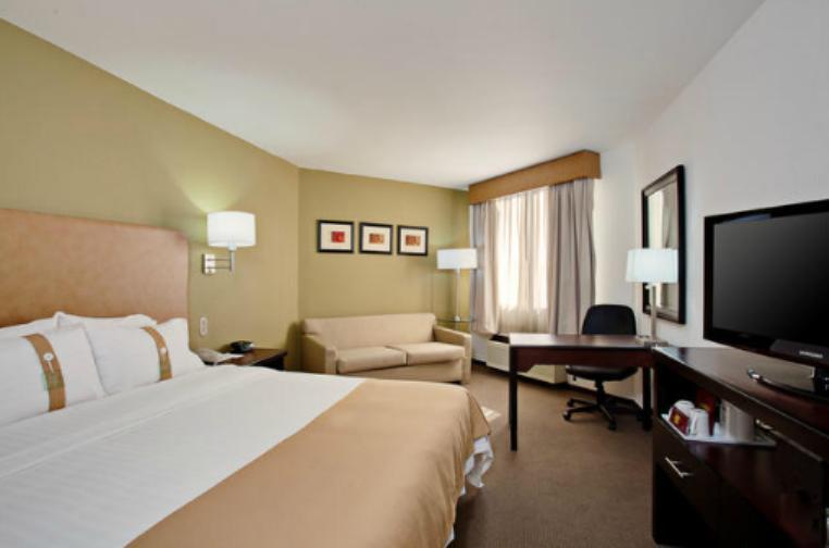 Holiday Inn Tijuana Zona Rio cama