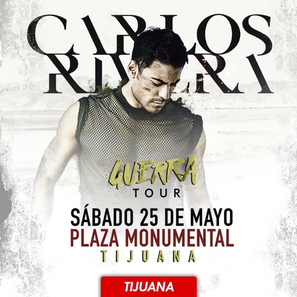 Carlos rivera en Tijuana