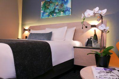 Quartz Hotel and Spa cama