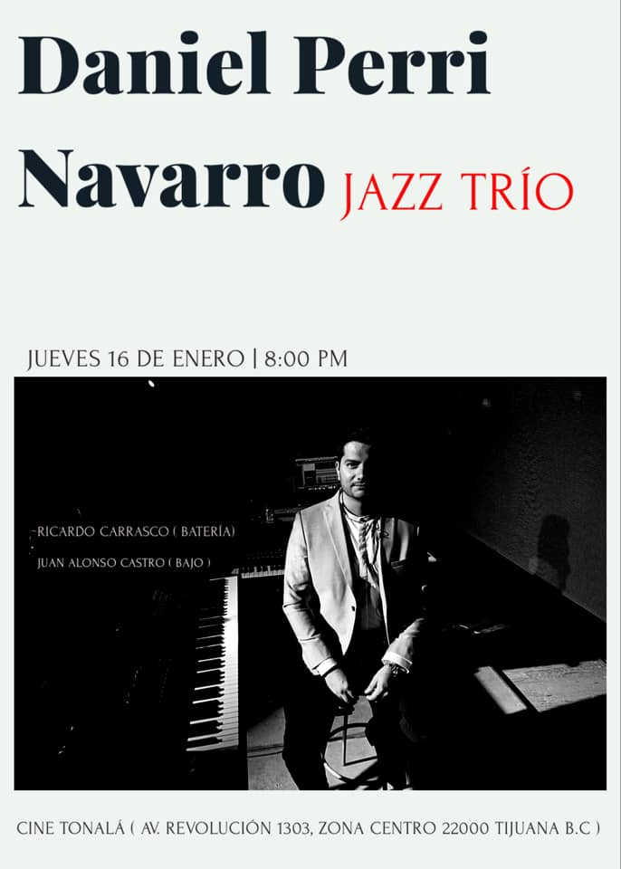 Daniel Perri Navarro Jazz Trío en concierto