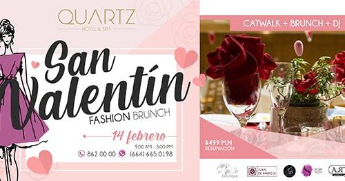 San Valentin Fashion Brunch