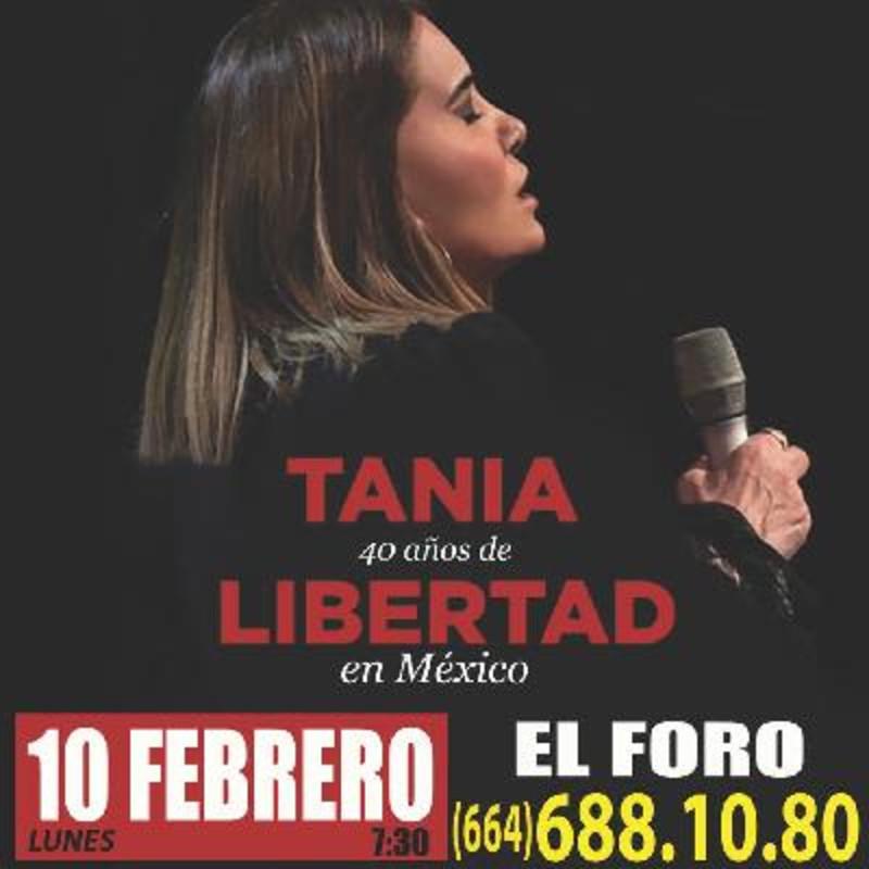 Tania Libertad en concierto