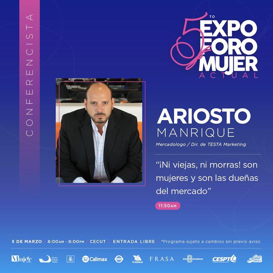 5to.-Expo Foro Mujer Actual Ariosto Manrique