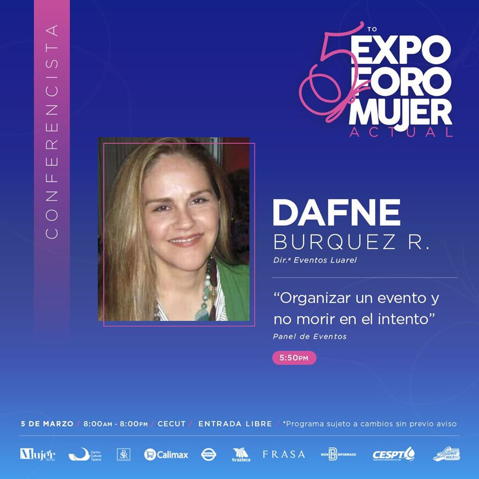 5to.-Expo Foro Mujer Actual Dafne Burquez