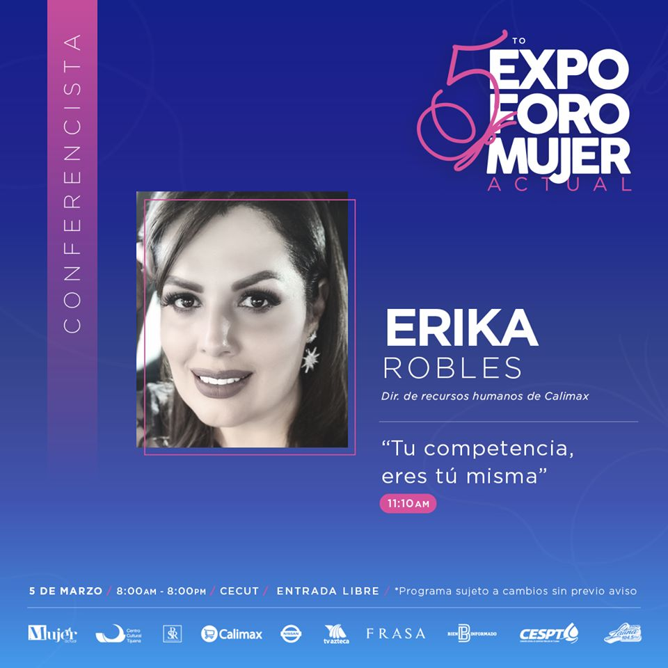5to.-Expo Foro Mujer Actual Erika Robles