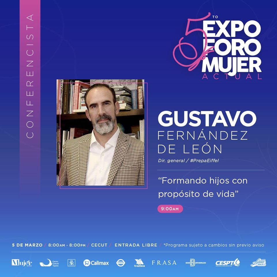 5to. Expo Foro Mujer Actual Gustavo Fernandez Leon