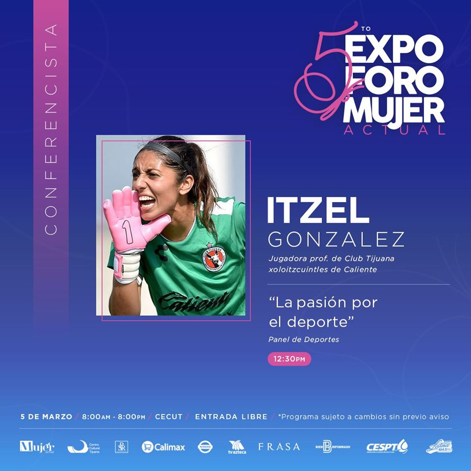 5to.-Expo Foro Mujer Actual Itzel Gonzalez