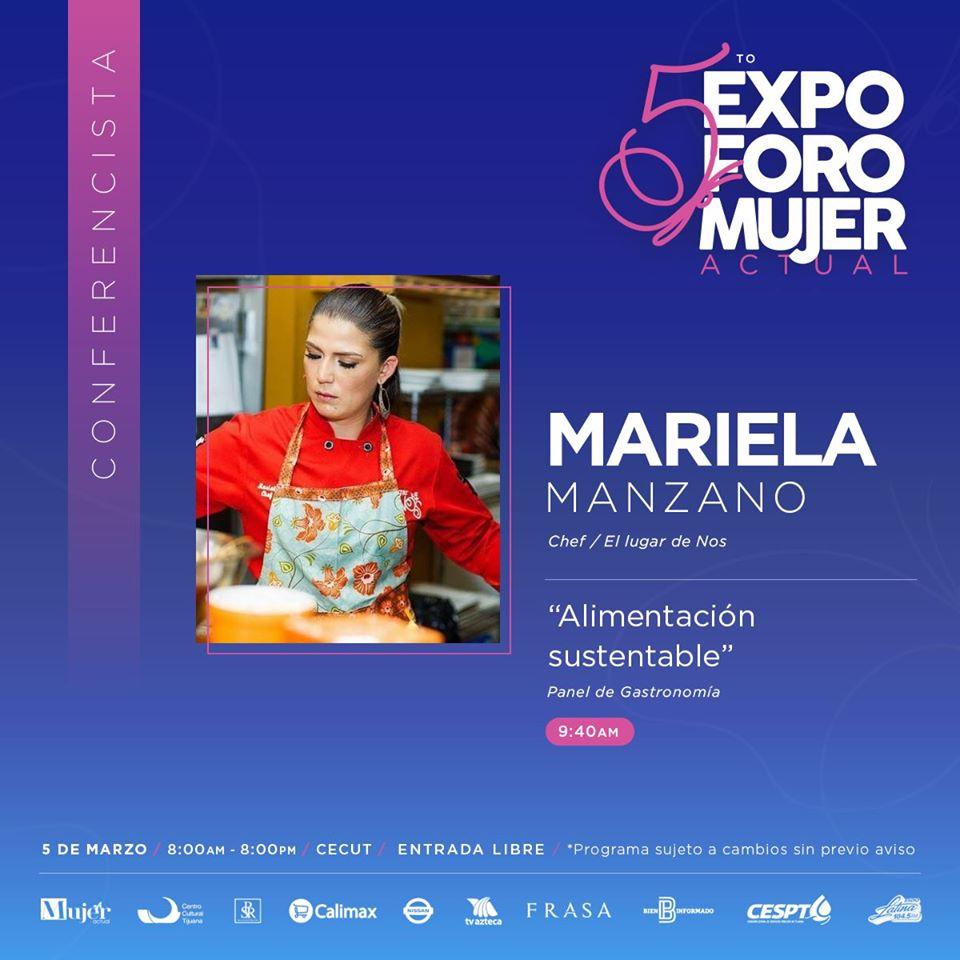 5to.-Expo Foro Mujer Actual Mariela Manzano