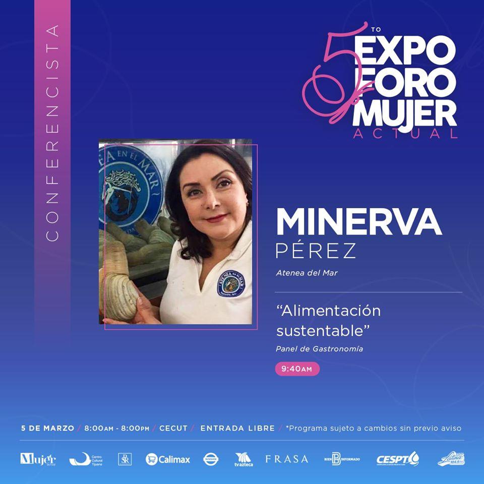 5to.-Expo Foro Mujer Actual Minerva Perez