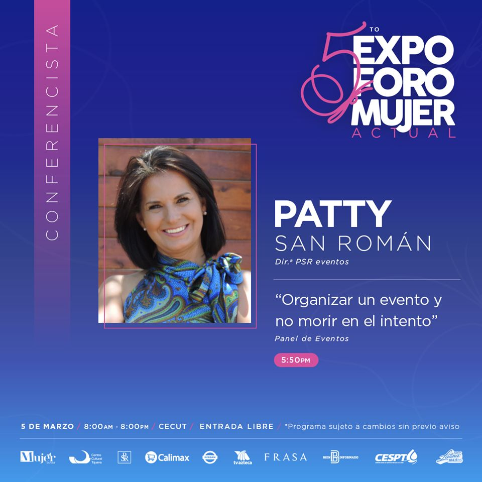 5to.-Expo Foro Mujer Actual Paty San Roman